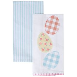 Homewear 2-pc. Easter Eggs Kitchen Towel Set