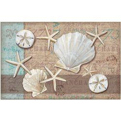Counter Art 24-pk. Paper Linen Shell Placemats