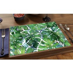 24-pk. Paper Palm Leaves Placemats