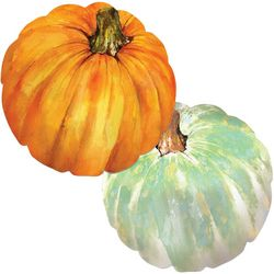 Counter Art Pumpkin Shape Placemat