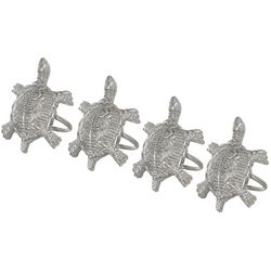 4-pc. Turtle Napkin Ring Set
