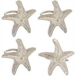 4-pc. Starfish Napkin Ring Set