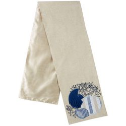 Lintex Embroidered Sea Shell Table Runner