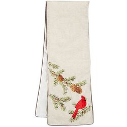 Table Trends Holiday Cardinal Table Runner