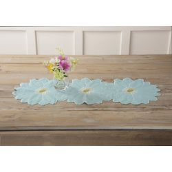 Arlee Tres Flores Table Runner Centerpiece
