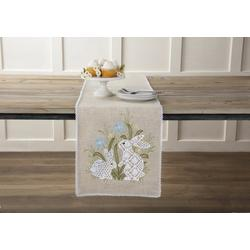 Bunny Meadow Table Runner