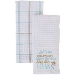 American Textile Co 2-pc. Let's Go Kitchen Towel Set