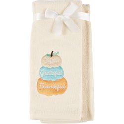 2-pc. Joyful Grateful Thankful Pumpkin Kitchen Towel Set
