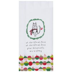 Kay Dee Designs Ornaments Are History Cat Kitchen Towel