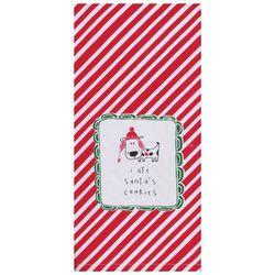 Kay Dee Designs I Ate Santa's Cookies Dog Kitchen Towel