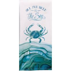 Sea Crab Dual Purpose Kitchen Towel