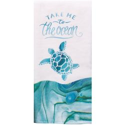 Take Me To The Ocean Kitchen Towel