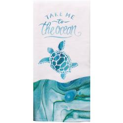 Take Me To The Ocean Kitchen Towel