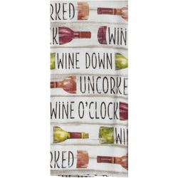 Kay Dee Designs Tuscan Words Dual Purpose Kitchen Towel