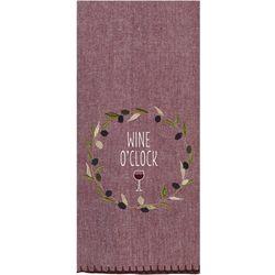 Kay Dee Designs Tuscan Tour Embroidered Flour Sack Towel