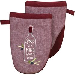 Kay Dee Designs Tuscan Tour Embroidered Mini Oven