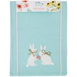 Kay Dee Designs Hello Spring Bunny Table Runner
