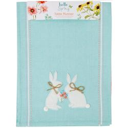 Hello Spring Bunny Table Runner