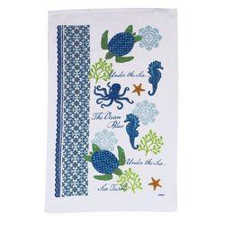 Sea Turtle Terry Kitchen Towel