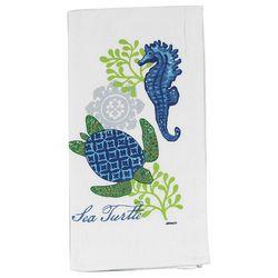 Kay Dee Designs Sea Turtle Flour Sack Towel