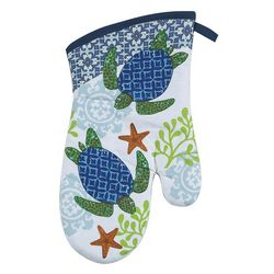 Sea Turtle Oven Mitt