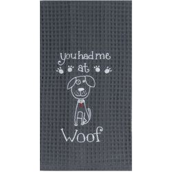 Woof Waffle Kitchen Towel