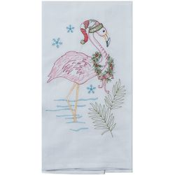 Kay Dee Designs Flamingo & Wreath Flour Sack Towel