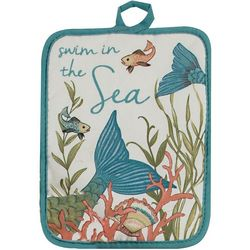 Swim In The Sea Pot Holder