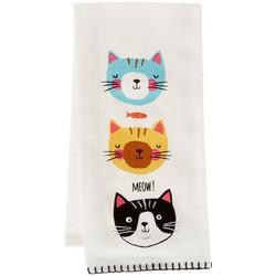 Crazy Cat Flour Sack Towel