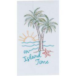 Kay Dee Designs Palm Tree On Island Time Flour Sack Towel