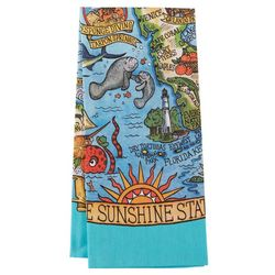 Florida Adventure Tea Towel