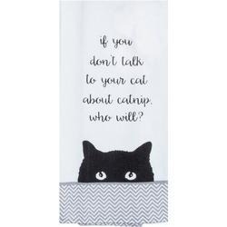 Catnip Tea Towel