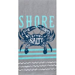 Kay Dee Designs Blue Crab Dual Purpose Terry Towel