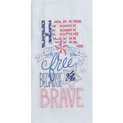 Kay Dee Designs Brave Embroidered Kitchen Towel