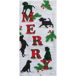 Kay Dee Designs Merry Dog Kitchen Towel