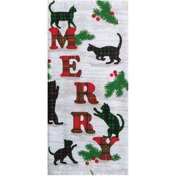 Kay Dee Designs Merry Cat Kitchen Towel