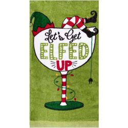 Ritz Let's Get Elfed Up Kitchen Towel