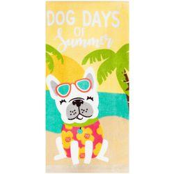Dog Days of Summer Dish Towel
