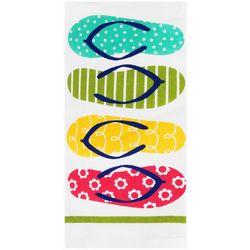 Ritz Summer Flip Flops Kitchen Towel