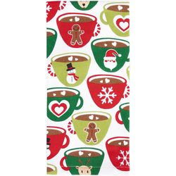 Ritz Holiday Mugs Kitchen Towel