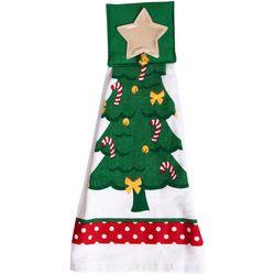 Ritz Christmas Tree Tie Towel