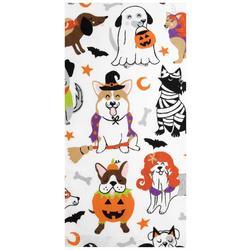 Halloween Dog Costume Kitchen Towel
