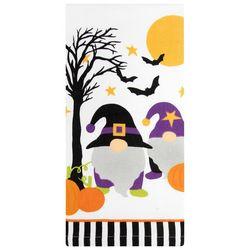 Ritz Halloween Gnome Pumpkin Patch Kitchen Towel