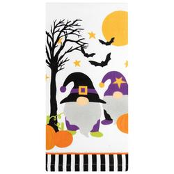 Halloween Gnome Pumpkin Patch Kitchen Towel