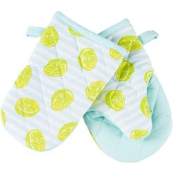 Key Lime Lexi 2-pc. Make It With Zest Oven Mitt Set