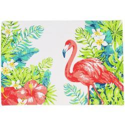 4-pc. Coastal Flamingo Placemat Set