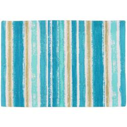 4-pc. Coastal Watercolor Stripe Placemat Set