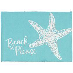 Vintage House 4-pc. Beach Please Placemat Set