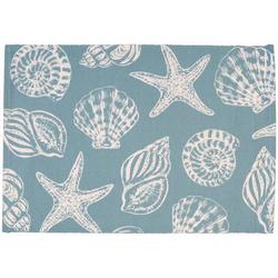 4-pc. Sea Shell Icon Placemat Set