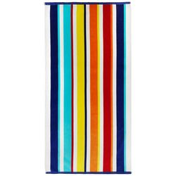Kaufman Velour Stripe Beach Towel